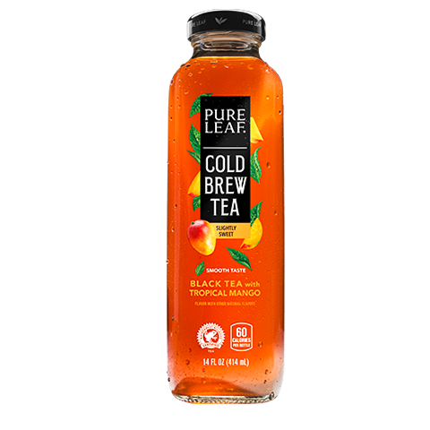 Slightly Sweet Tropical Mango Cold Brew Tea