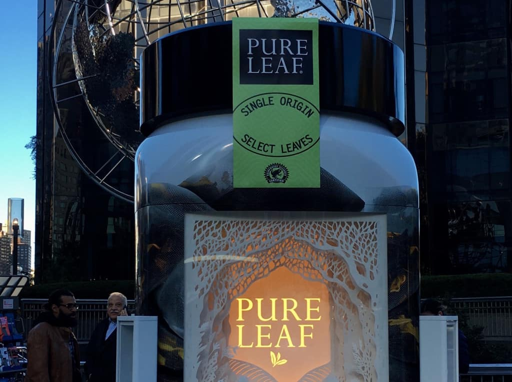 Pure Leaf Home Brewed Tea Canister Tour