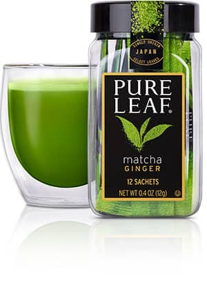 Matcha Photo Pure Leaf Ginger