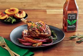 Pure Leaf® Peach Tea Marinated Grilled Pork Chops