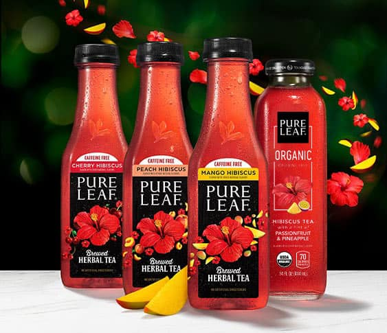 Introducing the new Pure Leaf Herbal Teas